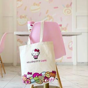 Hello Kitty Cafe Chef HK Tote Bag NWT